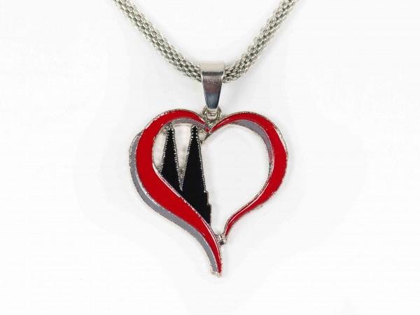 Halskette Dom-Herz