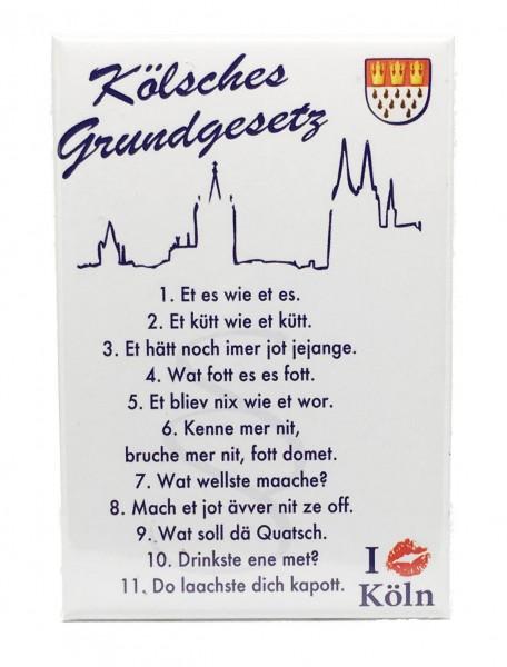 Magnet Grundgesetz Köln