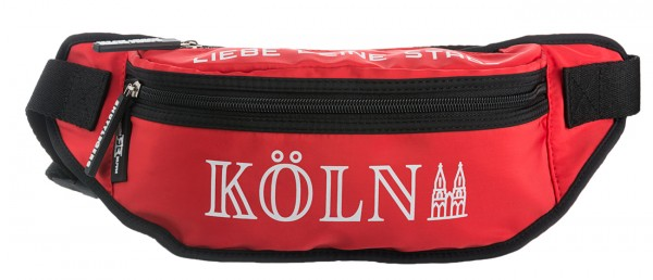 Gürteltasche Köln, rot