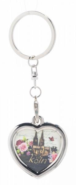 Schlüsselanhänger Dom-Romantik, Herz
