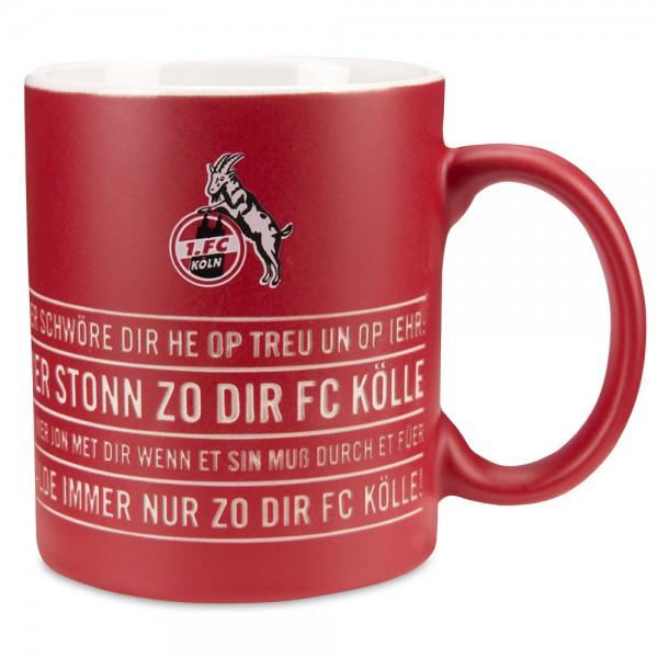1. FC Köln Kaffeetasse Hymne