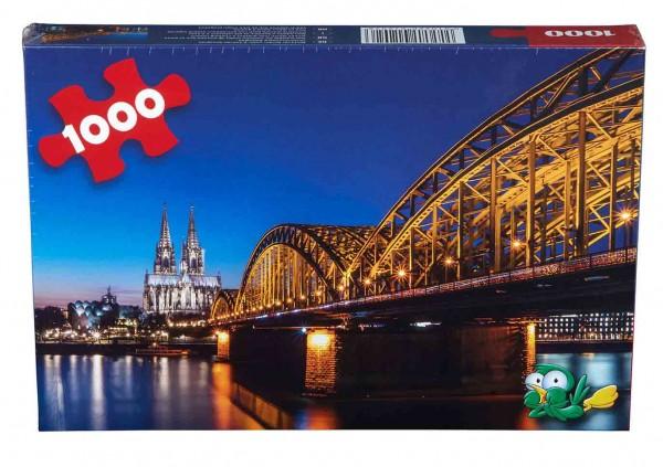 Puzzle Dom / Hohenzollernbrücke 1000 Teile
