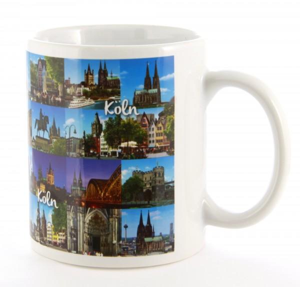 Tasse mit Kölner Foto Motiven