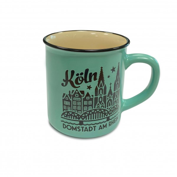 Köln Kaffeetasse - Domstadt, mint
