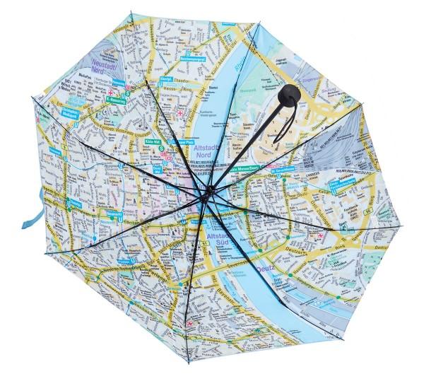 Regenschirm Citymap
