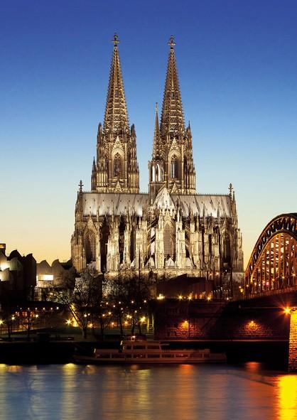Köln Poster - Dom Südseite