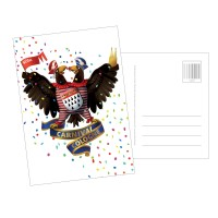 Postkarte Jecker Adler