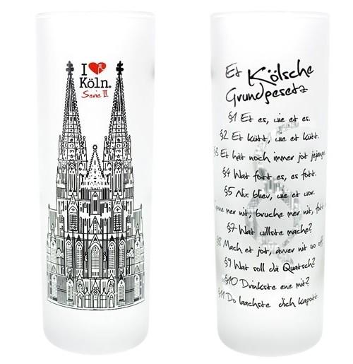 Schnapsglas, I Love Köln, Et kölsche Grundgesetz