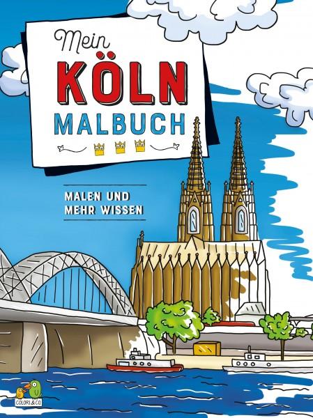 Mein Köln Malbuch