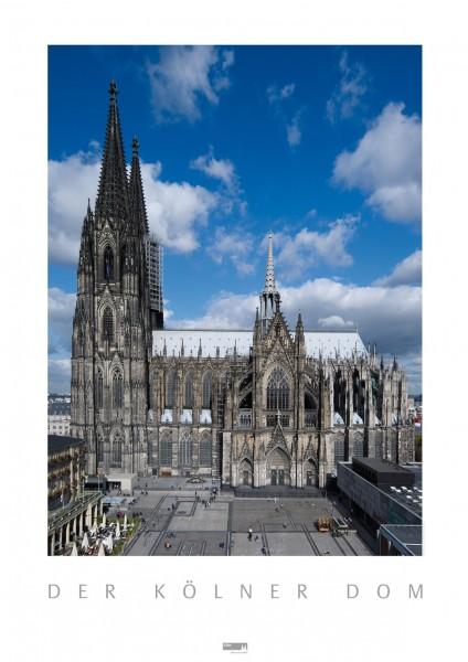 Poster Kölner Dom, Südseite