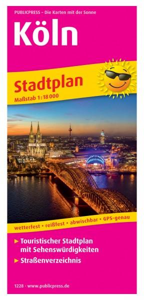 Köln Stadtplan