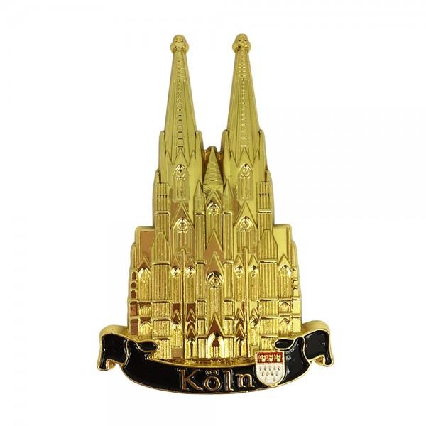 Magnet Kölner Dom aus Metall