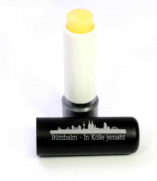 Lippenpflegestift, schwarz mit Skyline