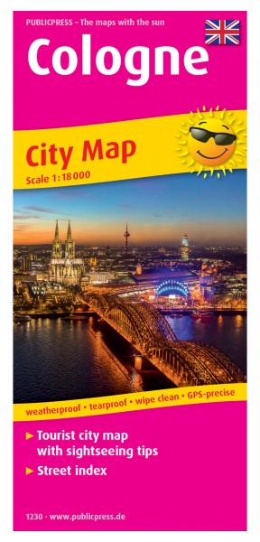Cologne City Map