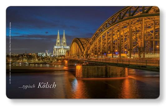 Frühstücksbrettchen Dom / Hohenzollernbrücke