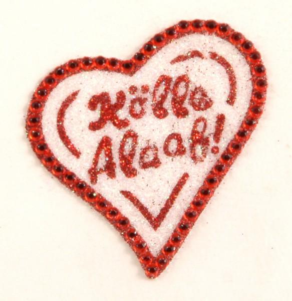 Glimmer Tattoo Herz Kölle Alaaf