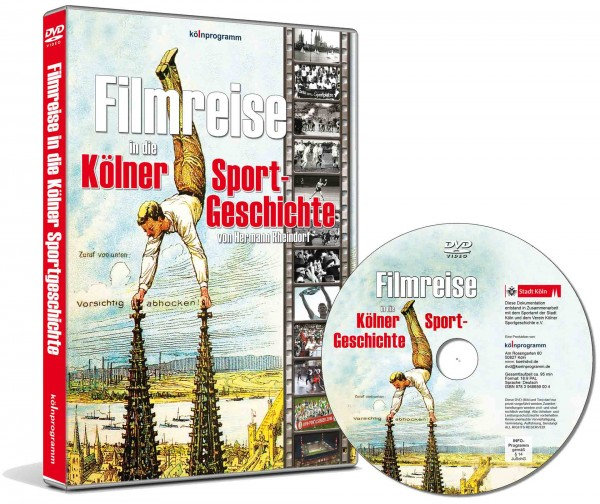 DVD Filmreise in die Kölner Sportgeschichte