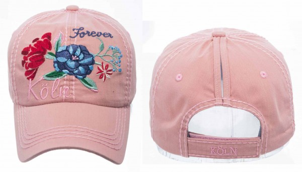 Köln Cap - Flower, rosa