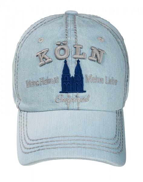 Köln Cap Denim, hellblau