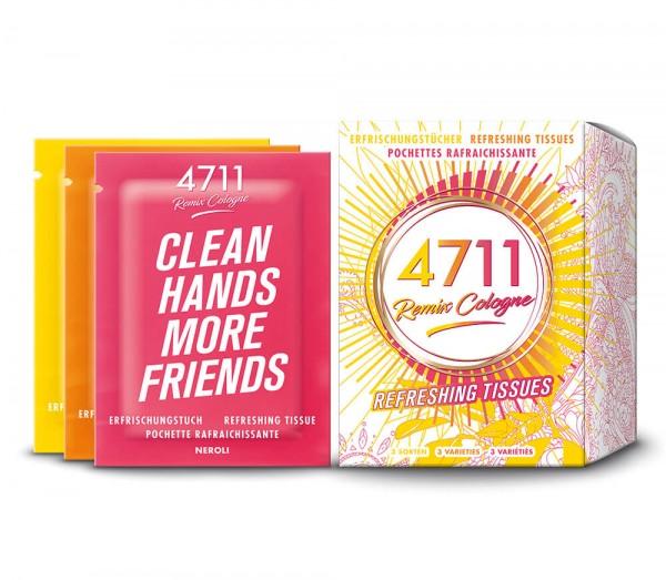 4711 Remix Erfrischungstücher Box