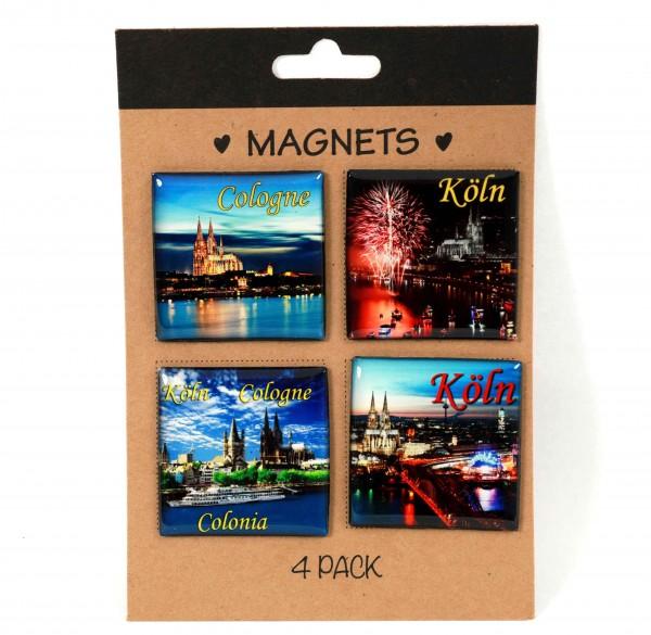 Magnete Motiv Köln, 4er Set