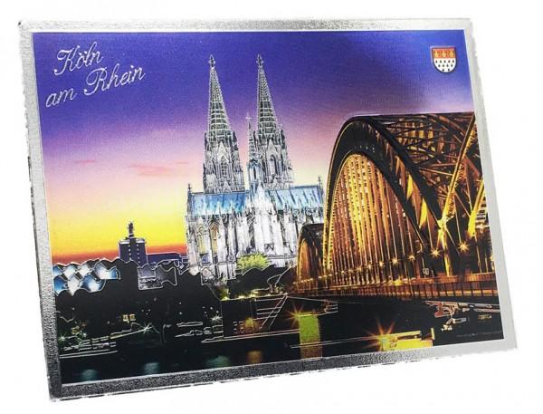 Magnet Metallic Dom / Hohenzollernbrücke