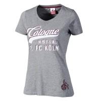 """1. FC Köln Damen T-Shirt """"Friedenstr."""""""