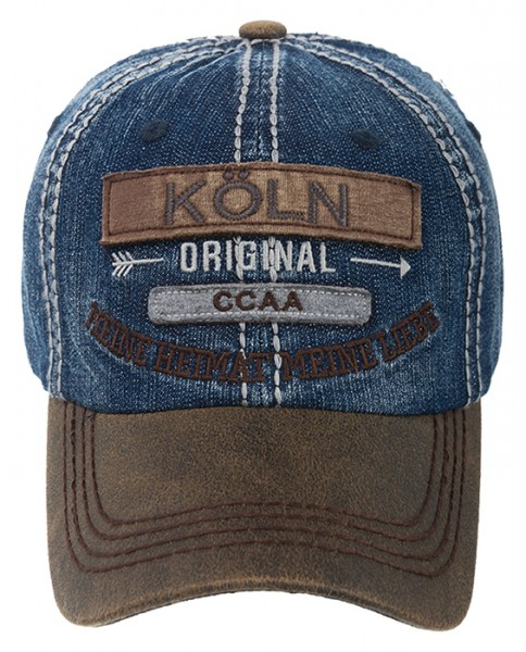 Cap - Köln Original, denim blau