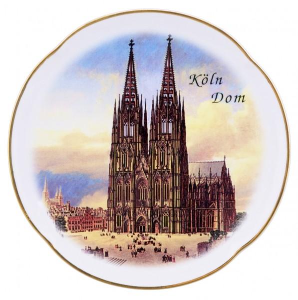 Wandteller Kölner Dom