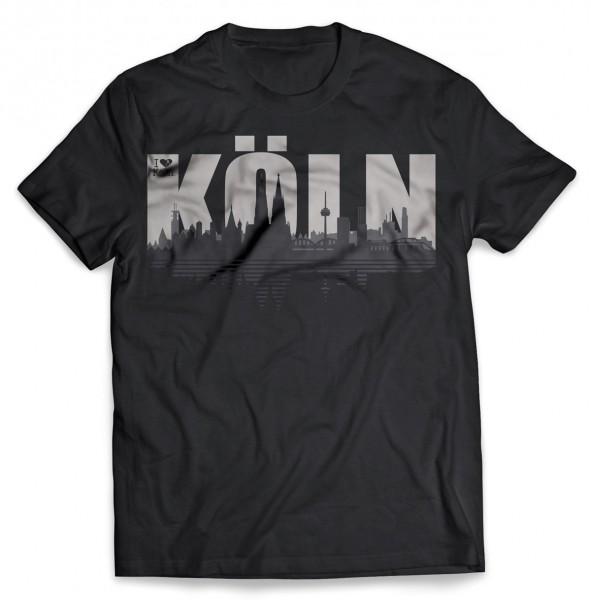 T-Shirt Köln schwarz