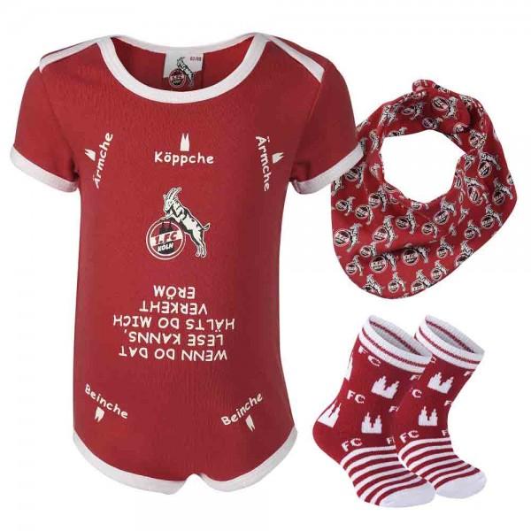 1. FC Köln 3-teilige Baby Geschenkbox