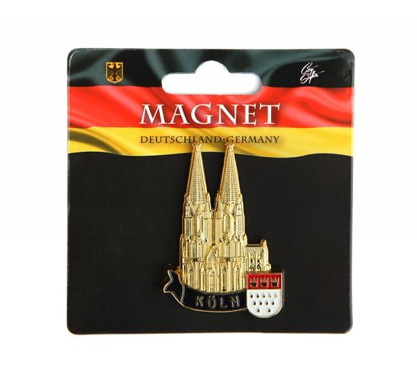 Magnet Dom Südseite, gold