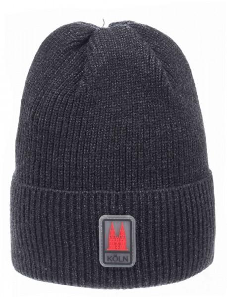 Köln Mütze grau