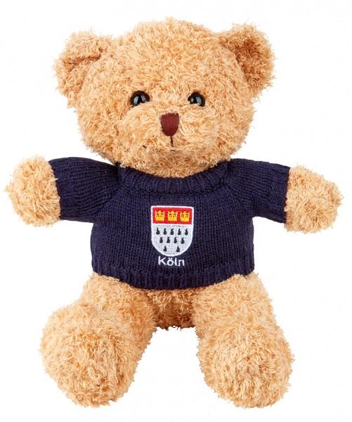 Köln Teddybär mit Pulli, in verschiedenen Größen