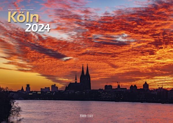 Köln 2021 Bildkalender DIN A3, quer