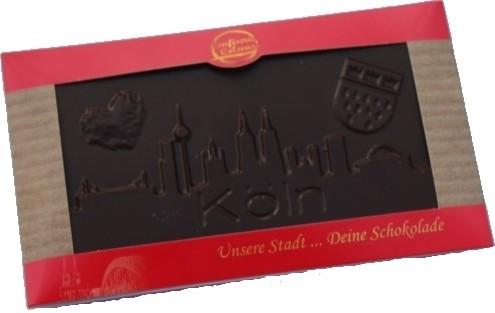 Schokolade Kölner Skyline, Zartbitter
