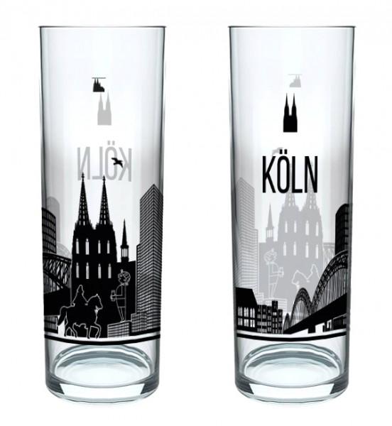 Kölschglas Skyline