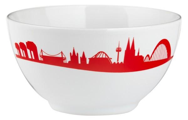 Müslischale mit der Kölner Skyline, im Set zum Top-Preis!