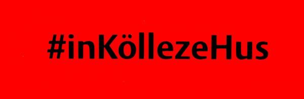 Autoaufkleber #inKöllezeHus, schwarz