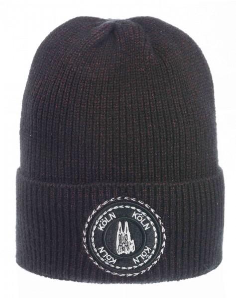 Köln Mütze schwarz, grau oder bordeaux