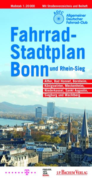 Fahrradstadtplan Bonn und Rhein-Sieg