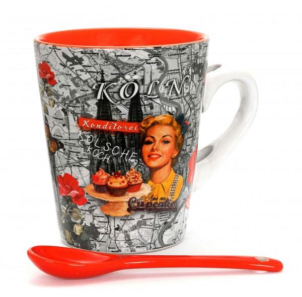 Kaffeetasse - Cupcake