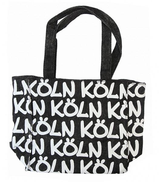 Köln Tasche, schwarz/weiß