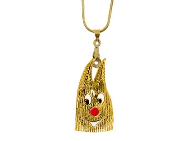 Kölner Dom Halskette, gold