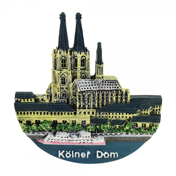 """Magnet """"Kölner Dom"""" 3D-Relief"""