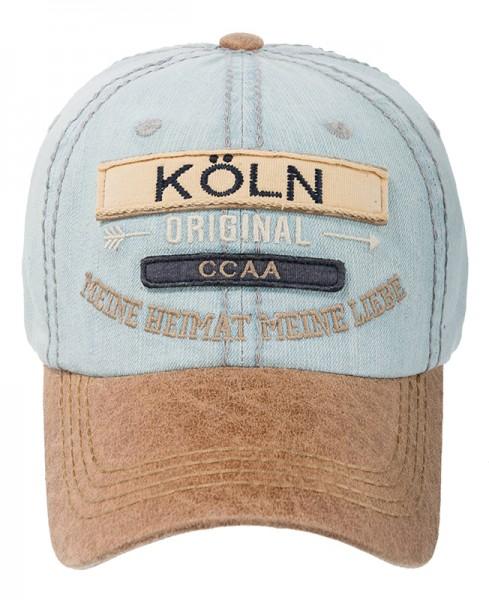 Cap - Köln Original, denim hellblau
