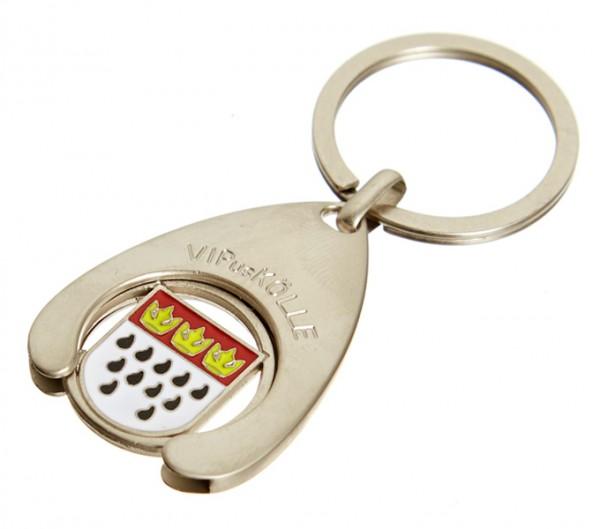 Schlüsselanhänger / Einkaufswagenchip Wappen