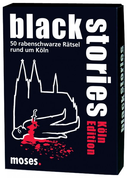Black Stories - Köln Edition - Das Krimi Kartenspiel